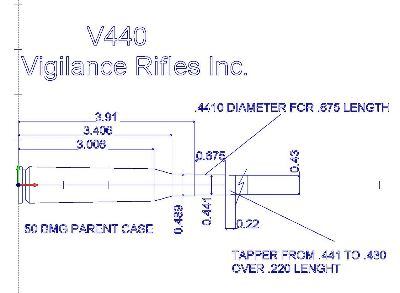 V440 CHAMBER REAMER