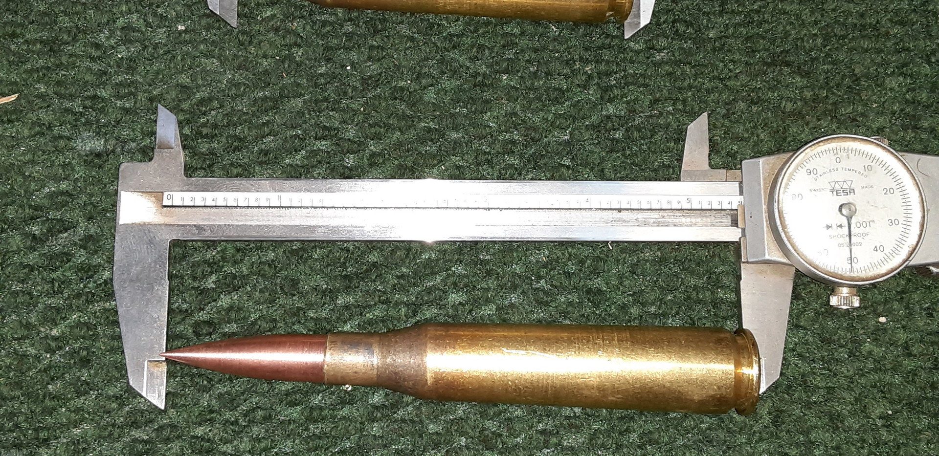 CALIPERS ON BULLETS