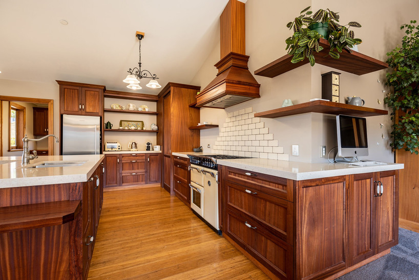 Elegant kitchen design.