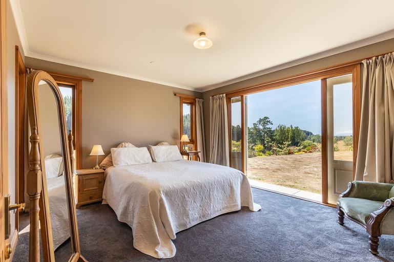 Stunning master bedroom.