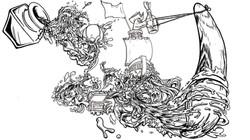 Ink Pirate Fatbird
