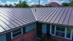 Standing Seam Panel Metal Roofing