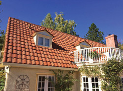 Spanish Tile Metal Roofing