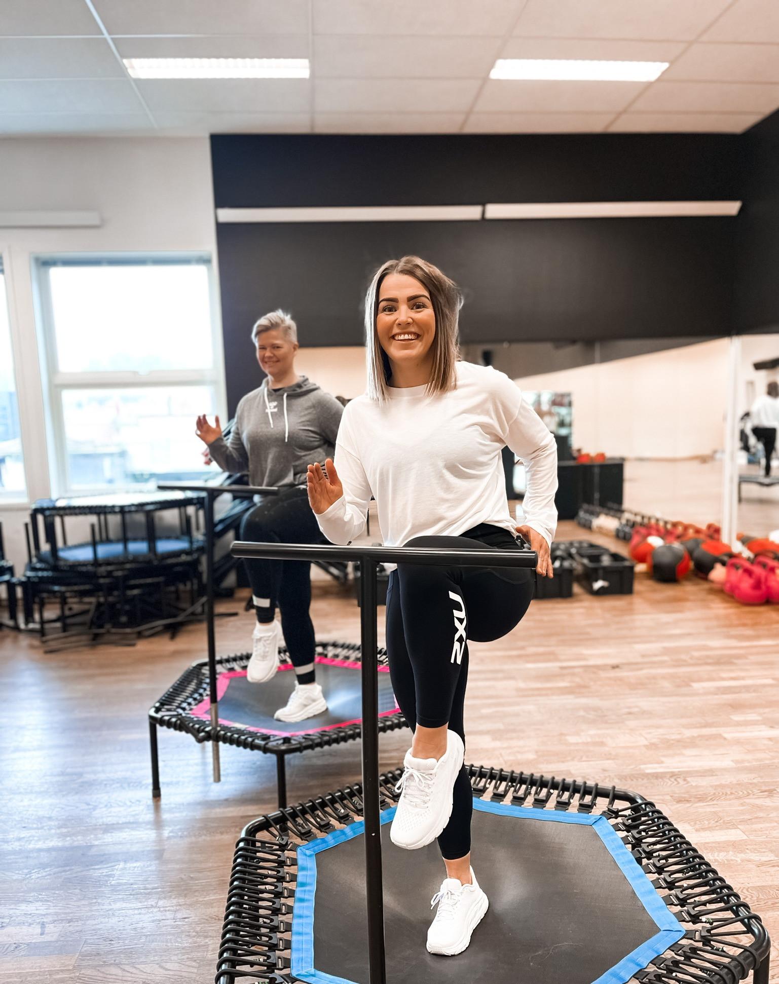 Jumping Fitness med Christine