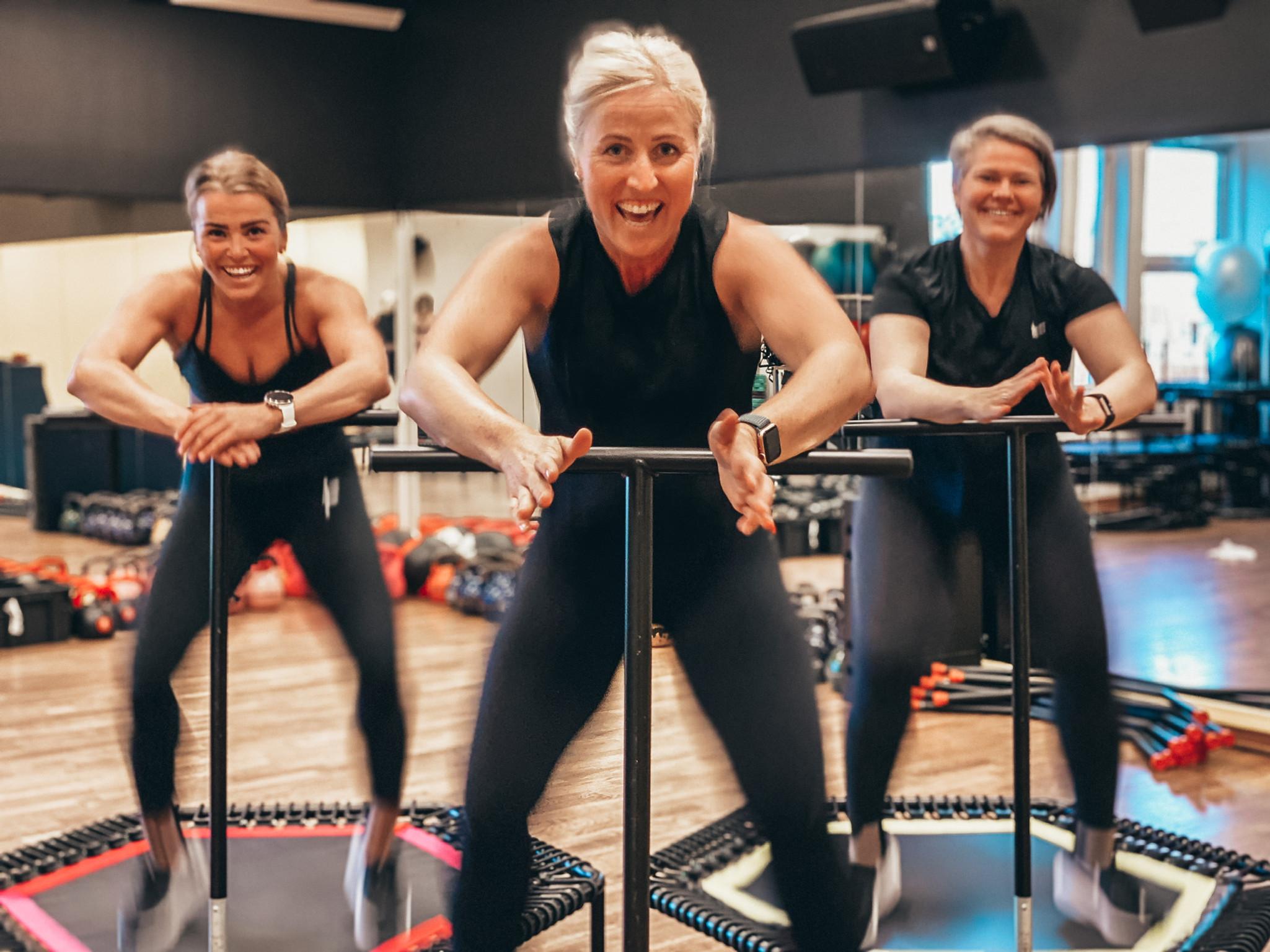 Jumping fitness med Liv Marit
