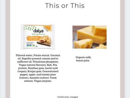 This or This - Dairy
