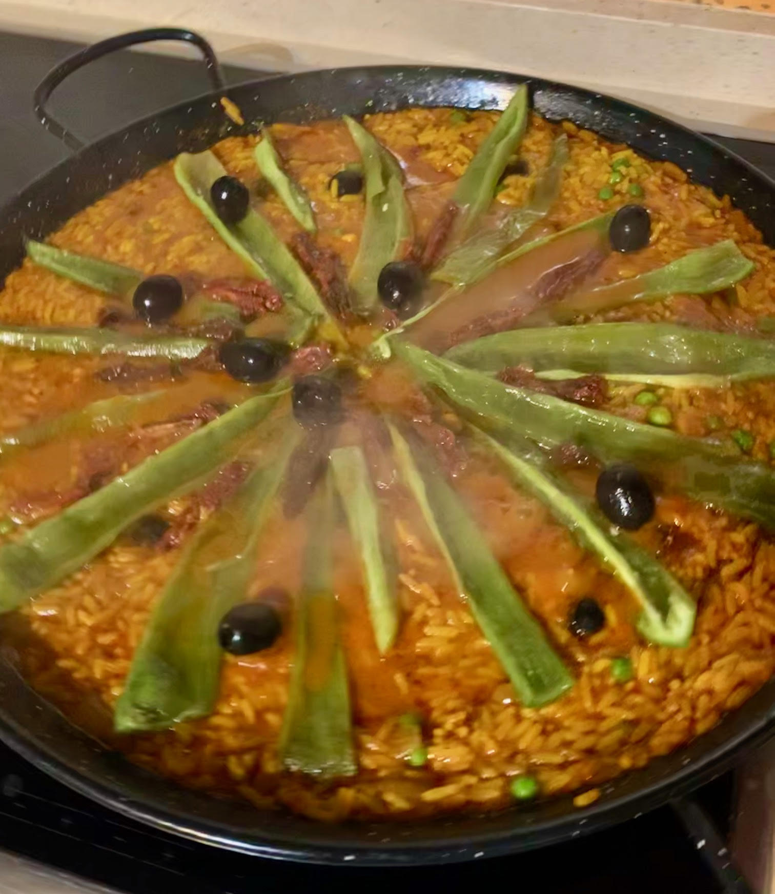 Freshly Made Paella