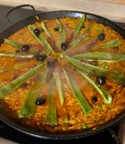 Freshly Made Paella