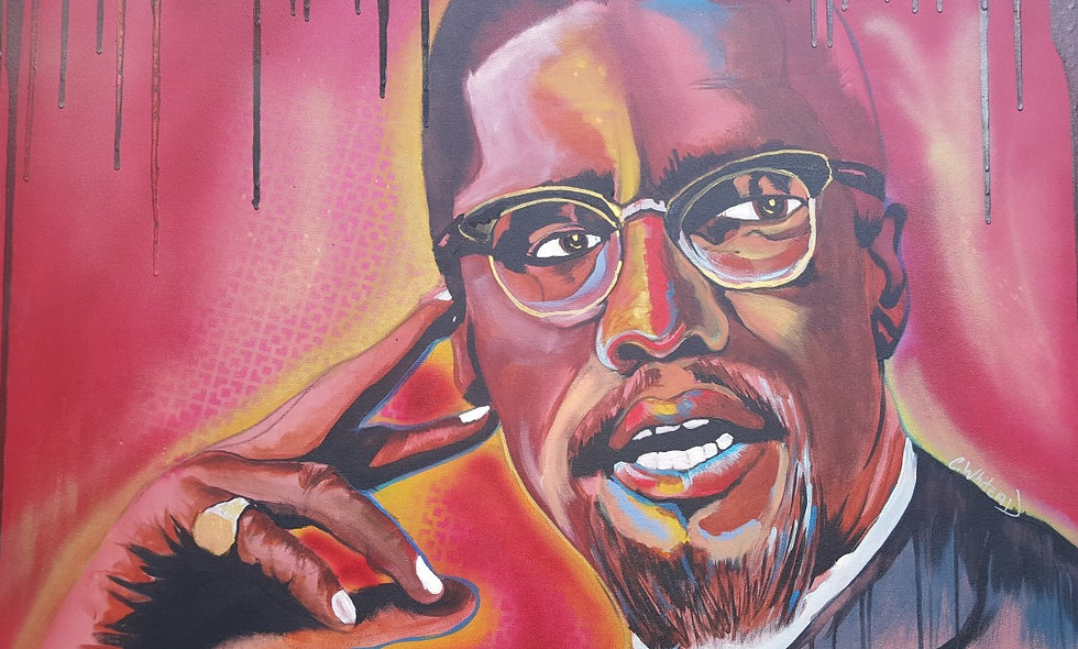 Funky Malcolm X - Limited Edition