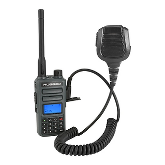Rugged GMR2 GMRS/FRS with Hand Mic