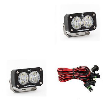 S2 Sport Wide Cornering Clear LED