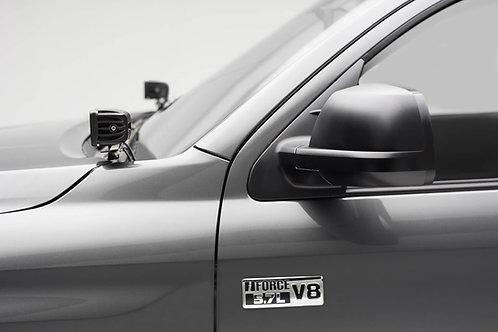 2014-2021 Toyota Tundra Hood Hinge LED Bracket to mount (2) 3 Inch LED Pod