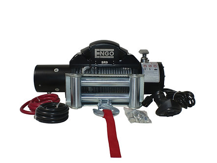 9,000 lbs. SR-Series Winch, Steel Cable With Roller Fairlead