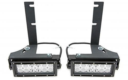 Rear Bumper Frame LED Light Bar Mounts - By ZRoadz