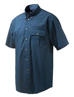 TM Shooting SS Shirt - Blue Total Eclipse