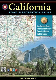 California Road & Recreation Atlas - By Benchmark