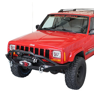 Offroad Bullhead Front Winch Bumper with Grille Guard