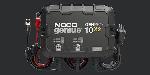 GENPRO10X2  12V 2-Bank, 20-Amp On-Board Battery Charger