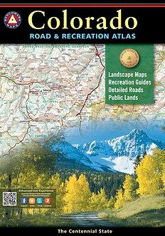 Colorado Road & Recreation Atlas - By Benchmark