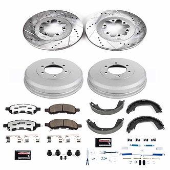 GM Colorado/Canyon 09-12 Performance Brake Upgrade Kit - Front & Rear