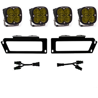 Dodge Ram 2500-3500 (10-18), 1500 (09-12) SAE Fog Pocket Kits