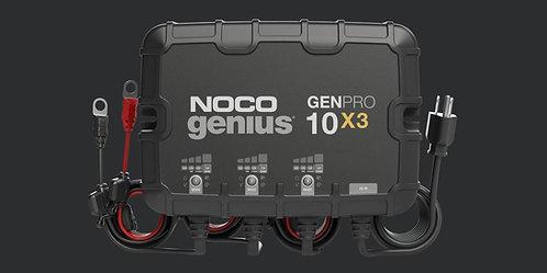 GENPRO10X3  12V 3-Bank, 30-Amp On-Board Battery Charger