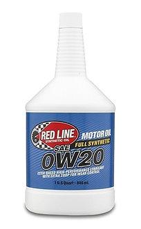 0W20 High Performance Motor Oil - Redline