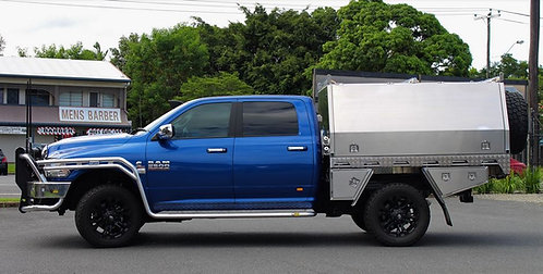 Norweld Aluminum UTE Deluxe Tray Package - Dodge/Ram 2500+