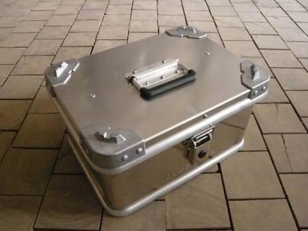 Alu-Box 20 Liter Aluminum Storage Case ABS20