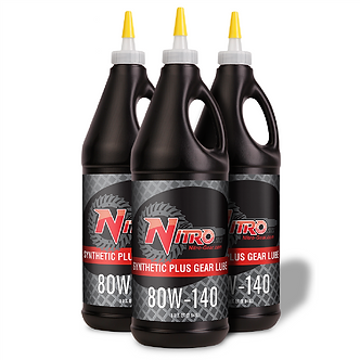 80W-140 Nitro Para-Synthetic Plus Gear Oil, GL5