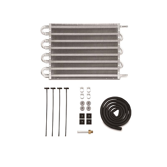 """Universal Transmission Fluid Cooler, 20"""" x 7.5"""" x 0.75"""" - By Mishimoto"""