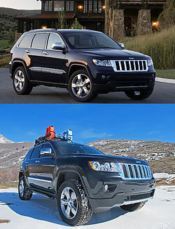 Grand Cherokee WK2  2.5 to 1 Lift and Leveling Kit, 2011-2020