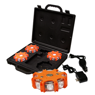 Roadside Rechargeable LED Flasher Kit