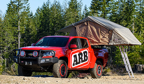 Simpson III Rooftop Tent - by ARB