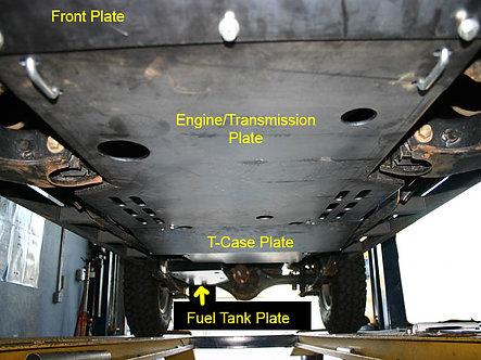99-04 Xterra & Frontier Engine & Transmission Skid Plate (Gen1)