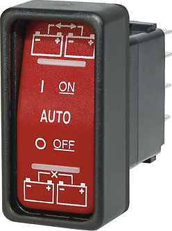 SPDT Remote Control Contura Switch - ON-OFF-ON