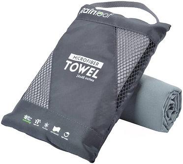Microfiber Towels - Grey