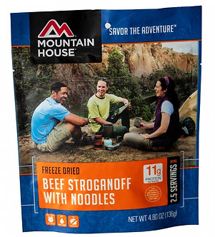 Beef Stroganoff Ready Meals - By Mountain House