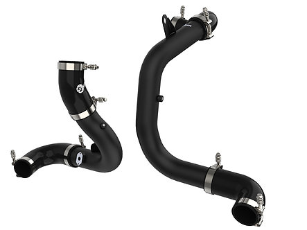 BladeRunner Aluminum Hot and Cold Charge Pipe Kit Black - Volkswagen 05-19 L4-