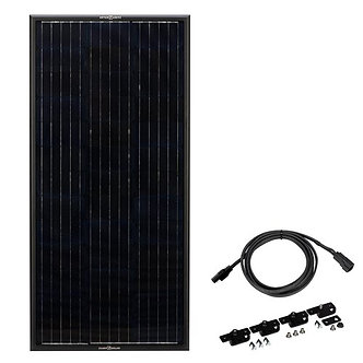 Obsidian 100 Watt Solar Panel Kit