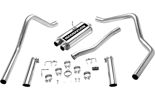 """Magnaflow 15773 Stainless Steel 2.5"""" Dual Cat-Back Exhaust System"""
