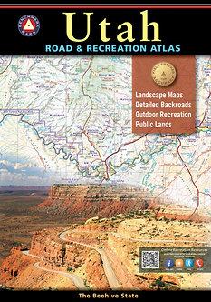 Utah Road & Recreation Atlas - By Benchmark