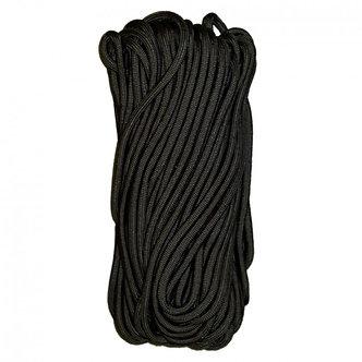 550 Cord - 50 Feet - Black - By TAC Shield