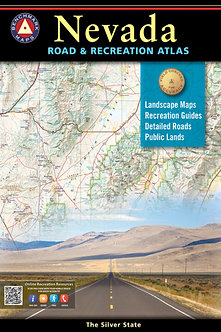 Nevada Road & Recreation Atlas - By Benchmark