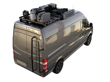 Mercedes Benz Sprinter (2006-Current) Slimline II 3/4 Roof Rack Kit