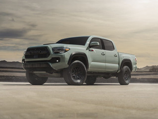 2021 Tacoma New Editions & Base Pricing