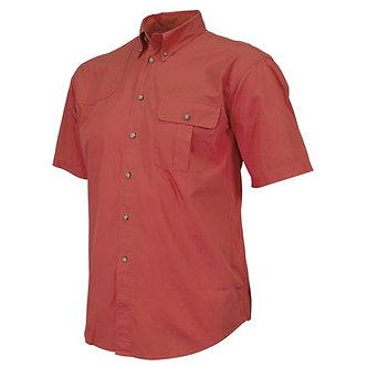TM Shooting SS Shirt - Red (faded)