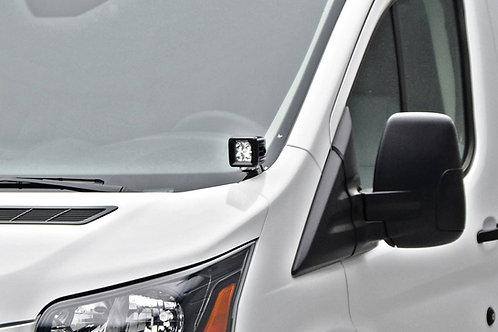 Hood Hinge LED Kit For 3 In LED Pods - Ford Transit (15-18)
