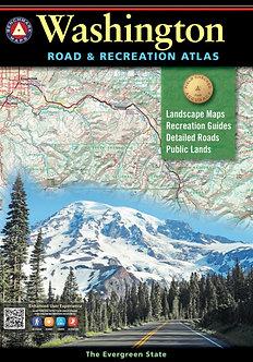 Washinton Road & Recreation Atlas - By Benchmark