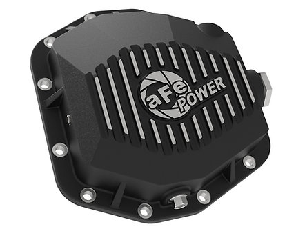 Pro Series Rear Differential Cover Black w/Machined Fins  2019+ Ford Ranger